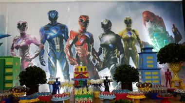 Power Rangers - Sabor e Festa